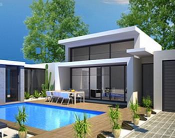 conception villa lotissement la roquette sur siagne 01 2011 sp cialiste de recherche et vente. Black Bedroom Furniture Sets. Home Design Ideas