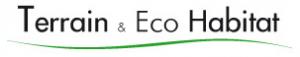 Logo Terrain Eco Habitat. recherche et vente terrain, vente terrain cannes, achat terrain cannes, realisation villa contemporaine